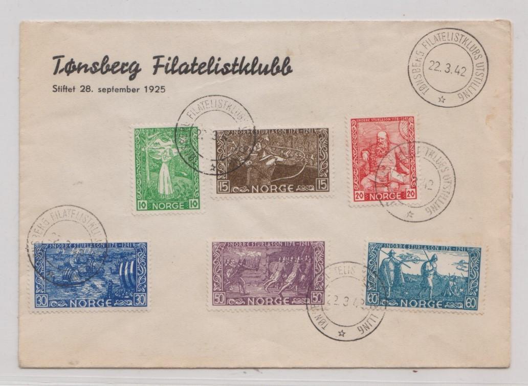 frimerkesamling til salgs